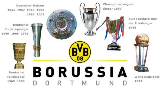 Боруссия дортмунд все трофеи